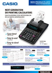 DR Printing Calculators