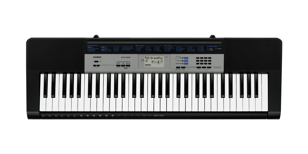CTK-1550 | Standard Keyboards | Electronic Musical Instruments | CASIO
