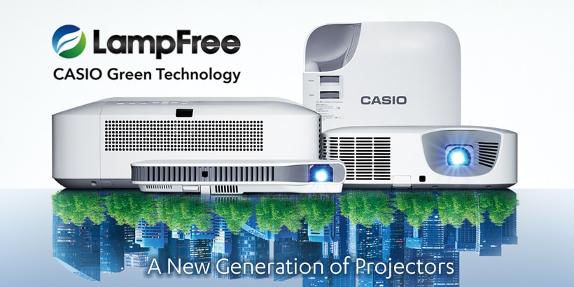 Projector lampfree