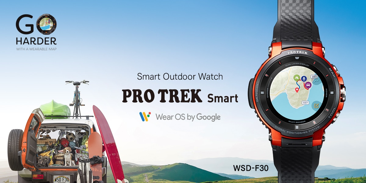 Smart Outdoor Watch [WSD-F30]