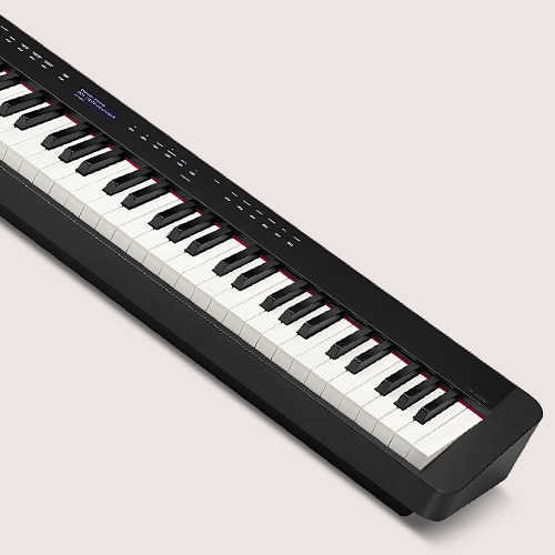 Piano digital mais fino do mundo com ação de martelo*
