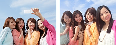 [21mm wide-angle lens] Wide images for group portraits