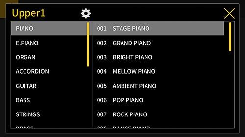 Piano Remote Controller