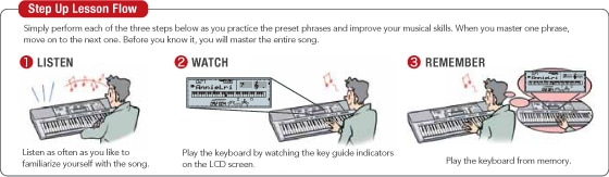 Step Up Lesson Casio CDP-235 Digital Piano img07