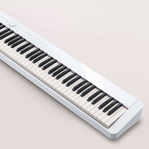 Slimmest hammer-action digital piano in the world*
