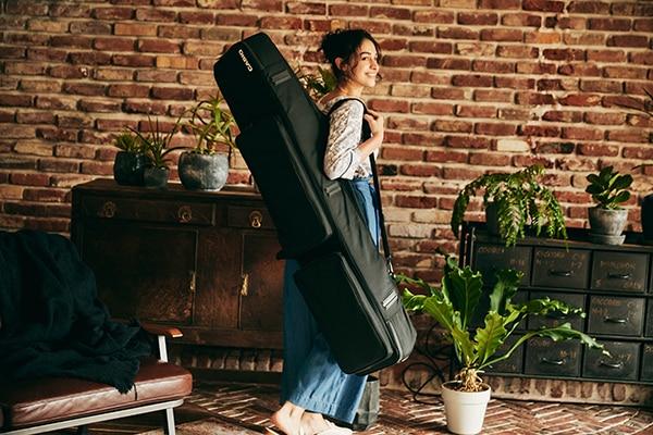 隨身攜帶 Privia,隨時隨地享受音樂。