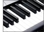 Piano-Style Keyboard and Touch Response