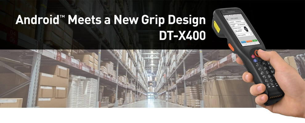 Android™ Meets a New Grip Design DT-X400