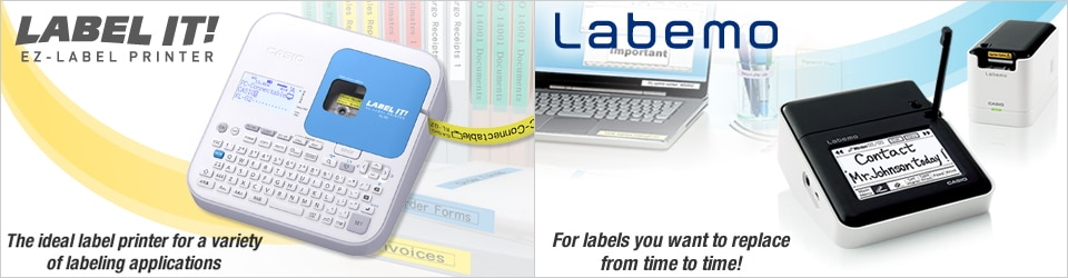 Labemo & EZ-LABEL PRINTER LABEL IT!