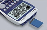 Ranura para tarjeta de memoria SD (s坦lo el modelo SD)