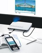 Conexión USB directa al proyector de datos CASIO*