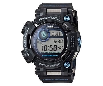 frogman g shock with depth meter gwf d1000b 1 11street. Black Bedroom Furniture Sets. Home Design Ideas