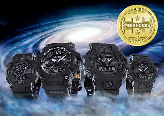 7dc99b3bf6f Casio to Release BIG BANG BLACK 35th Anniversary G-SHOCK Collection