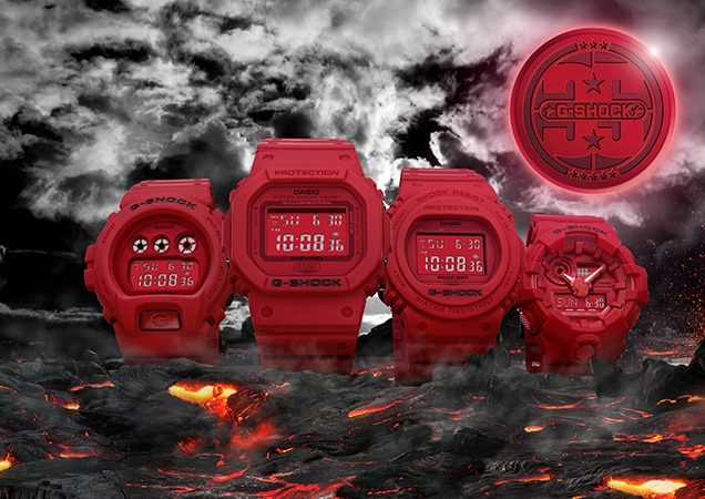 Casio to Release 35th Anniversary G-SHOCK RED-OUT Collection