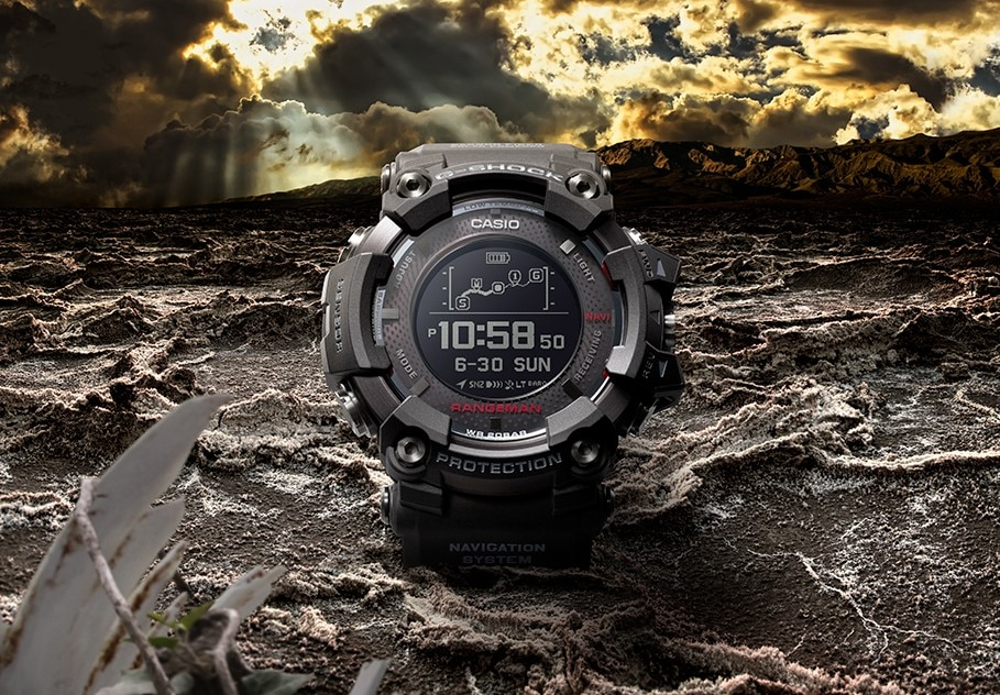 casio to release new g shock rangeman with the world s. Black Bedroom Furniture Sets. Home Design Ideas
