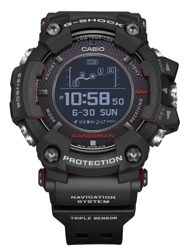 Casio to Release New G-SHOCK RANGEMAN with the World's ...
