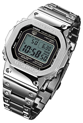 Casio To Release First G Shock 5000 Series Watch With Full Metal