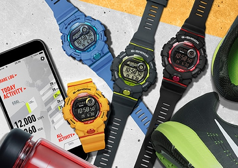 9c01efc13187 Casio to Release New G-SHOCK and BABY-G with App Connectivity for Step  Tracking
