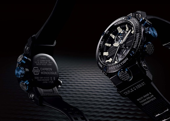 Casio to Release G-SHOCK with New Carbon Core Guard Structure