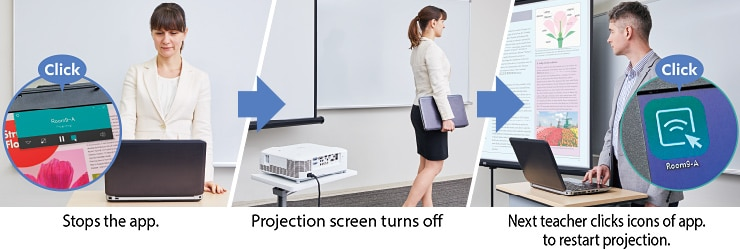 Auto Projection OFF