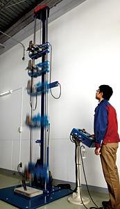3 metreden düşmeye dayanıklılık testi
