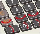 Sơ đồ phím và hình dáng nắp phím