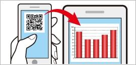 Dịch vụ trực quan hóa trực tuyến sử dụng mã QR