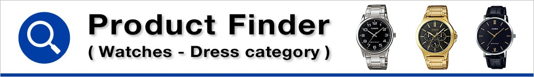 Product Finder (Watches - Dress category)