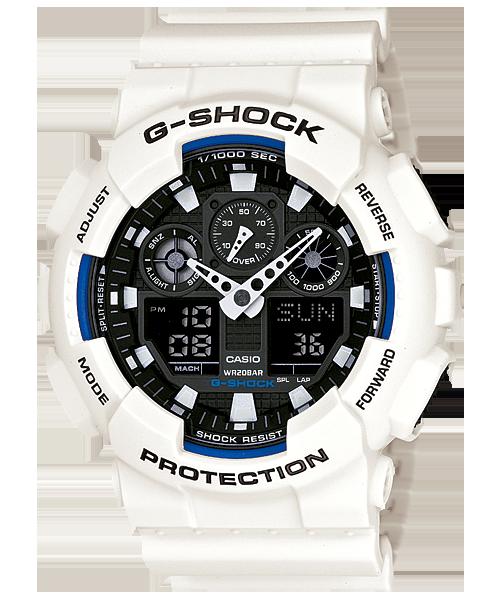 Ga-100b-7a | standard analog-digital | g-shock | timepieces | casio.
