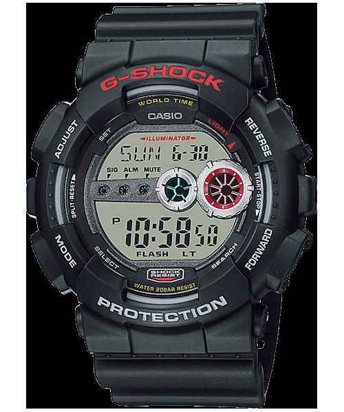 Gd 100 1a Standard Digital G Shock Timepieces Casio