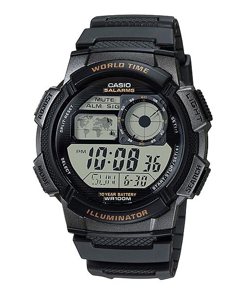 ae 1000w 1av youth digital youth series timepieces casio rh casio intl com casio edifice illuminator wr100m manual Casio Pro Trek