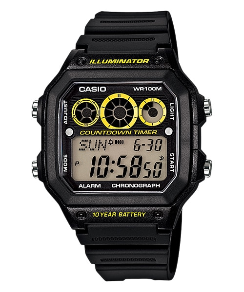 6dd5c21d9a AE-1300WH-1AV | YOUTH DIGITAL | YOUTH SERIES | Timepieces | CASIO