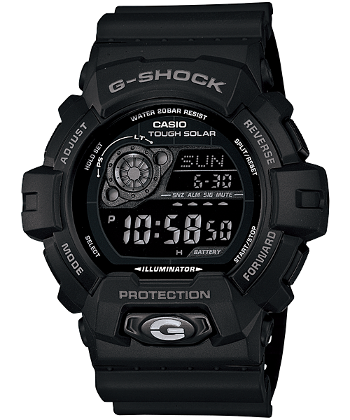 How to set time on casio g-shock g-8900.