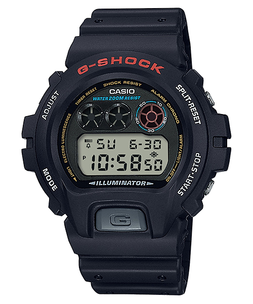DW-6900-1VH | STANDARD DIGITAL | G-SHOCK | Timepieces | CASIO