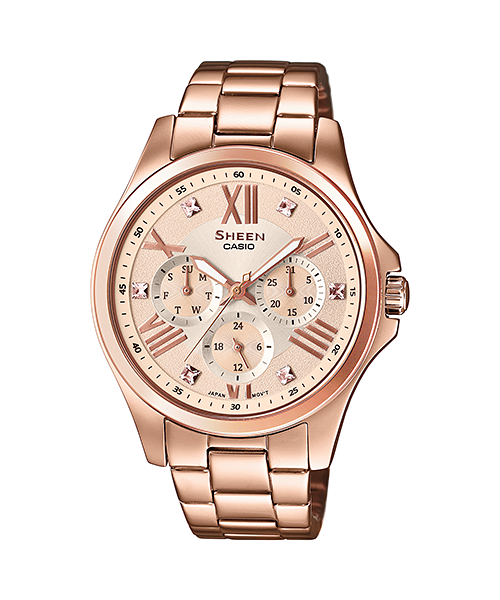 super popular 9a310 9c7a6 SHE-3806PG-9A | MULTI-HAND | SHEEN | Timepieces | CASIO