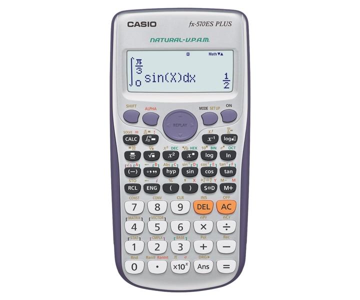 fx-570ES PLUS   Standard Scientific calculators   Scientific