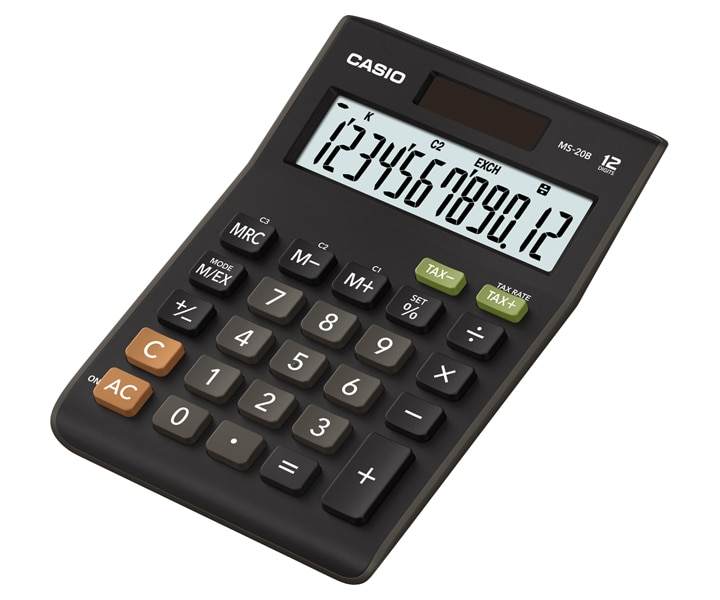 Ms 20b The Standard For Business Office Calculators