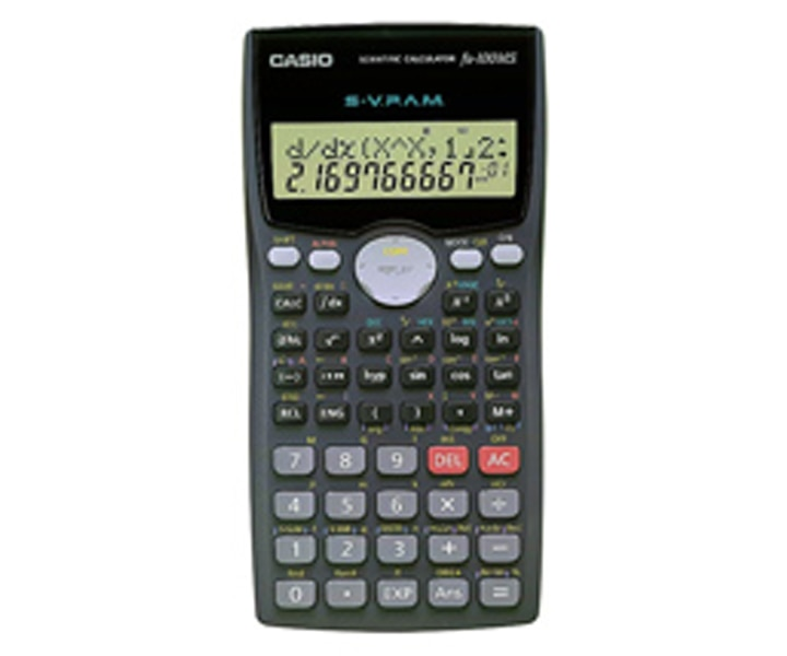Casio scientific calculator fx-100ms original cbpbook.