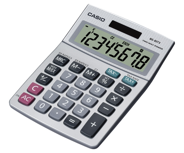 MS-80TV | SHOP & FIELD | Calculators | CASIO