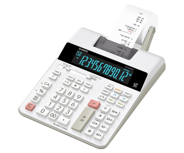 Fr 2650rc Printing Calculators Heavy Duty Type Desk