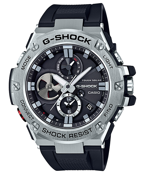 gst b100 1a g steel g shock timepieces casio. Black Bedroom Furniture Sets. Home Design Ideas