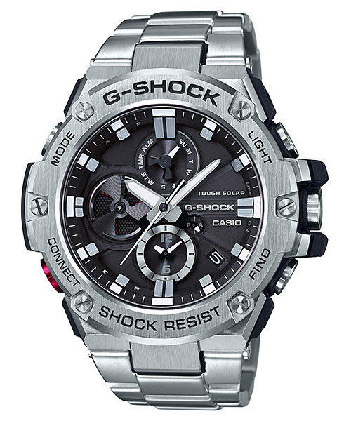 Image result for Casio Men's G-Steel by G-Shock GST-B100D-1ACR