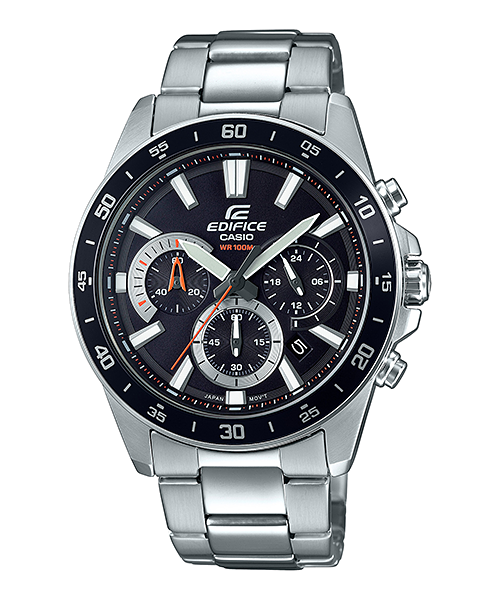 Efv 570d 1av Standard Chronograph Edifice Timepieces Casio